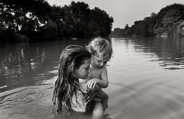 Naomi and Isaac. World from My Front Porch by Larry Towell, published by Chris Boot