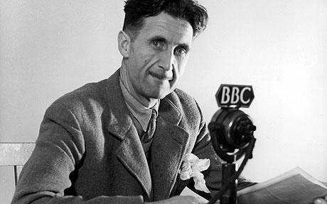 George Orwell - broadcasting 1984, which is 60 years old next week