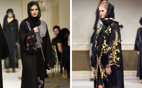The Saks Fifth Avenue Riyadh and Jeddah fashion show at the George V hotel in Paris.