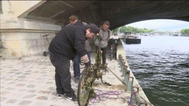 La pesca magnética en París