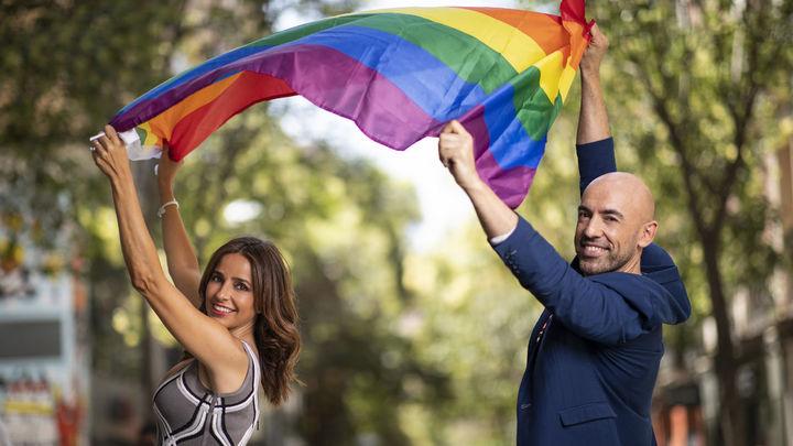 Carmen Alcayde y Emilio Pineda. / Telemadrid