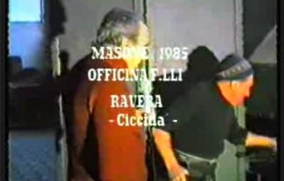 Gianni Ravera, Cicidà, il chiodaiolo