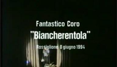 """Biancherentola, spettacolo teatrale del """"Fantastico Coro"""""""