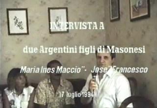 Intervista a discendenti di emigrati in Argentina