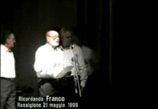 Il Coro delle Rocce Nere ricorda con uno spettacolo il maestro Franco