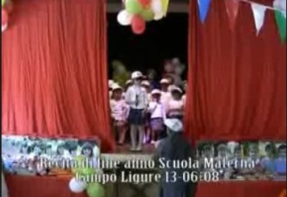 Recita scuola materna Umberto I di Campo Ligure