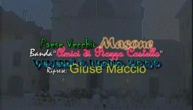 concerto della banda musicale masonese Amici di Piazza Castello