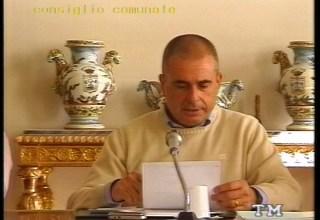 Consiglio Comunale Masone - Il sindaco Paolo Ottonello