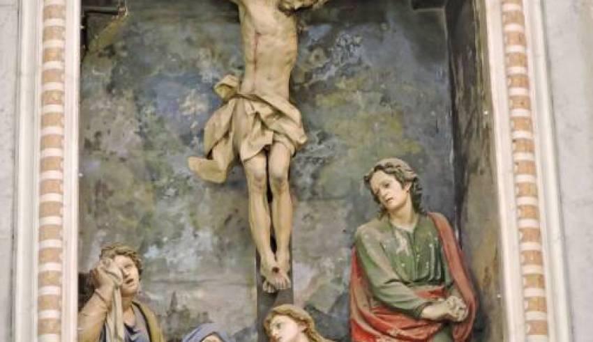 Santuario N.S. Dell'Acquasanta, particolari artistici - Gianni Ottonello
