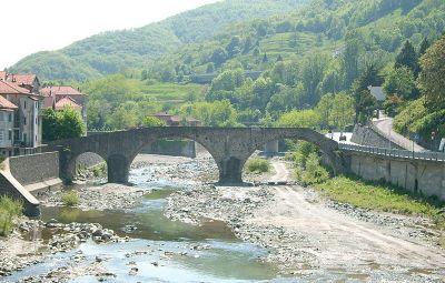 Campo Ligure, il ponte medioevale - Foto di Davide Papalini