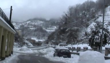 Nevicata a Masone