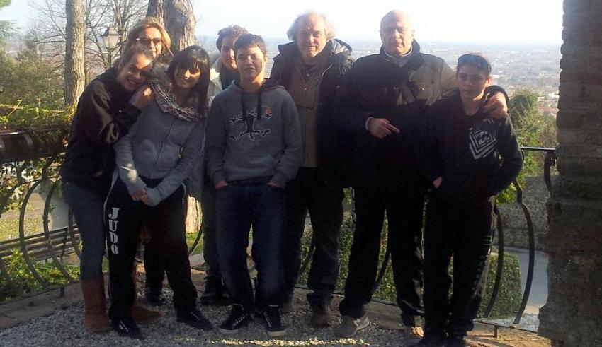 Gruppo judo spedizione Vittorio Veneto