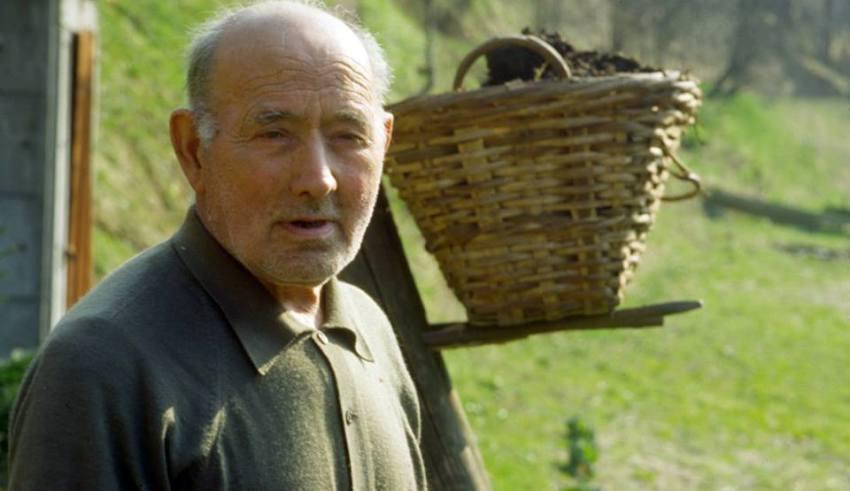 Mondo contadino della Valle Stura, Mario Ottonello - Foto di Gianni Ottonello