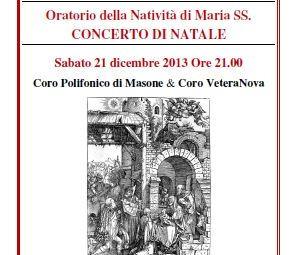 Concerto di Natale 2013 al Paese Vecchio