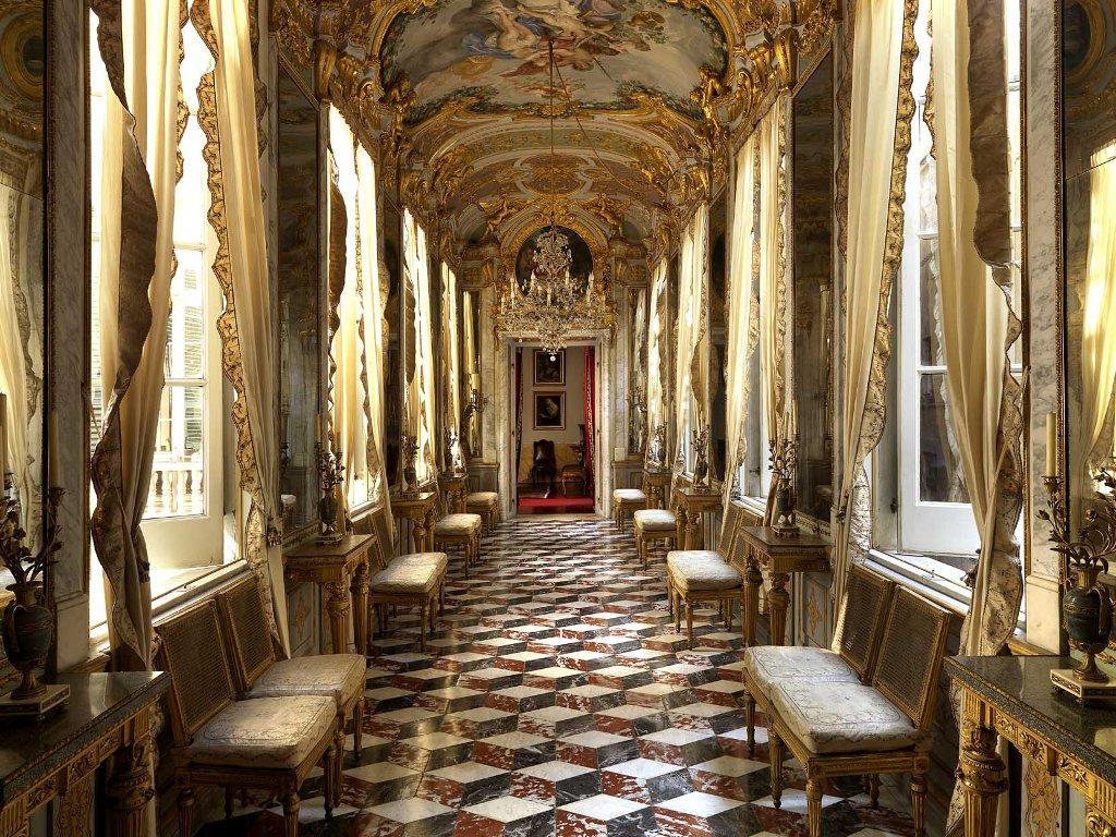 Palazzo Spinola a Genova - Galleria degli specchi
