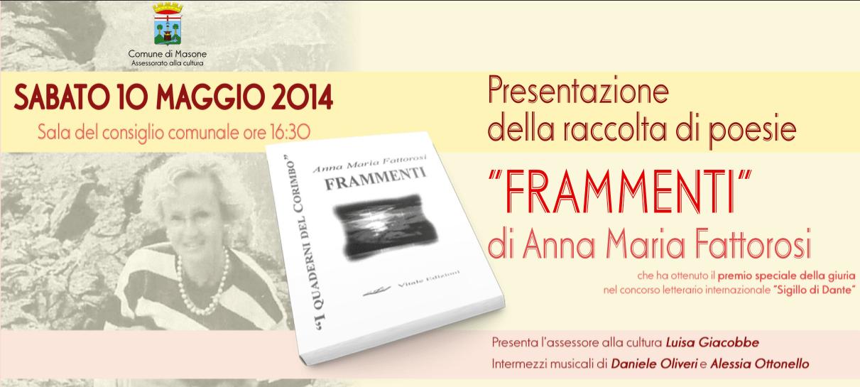 """Anna Maria Fattorosi """"Frammenti..."""""""