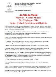 Masone Festa S.Gv.Battista 2014