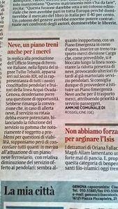 ilSecoloXIX-articolo Comune di Rossigione