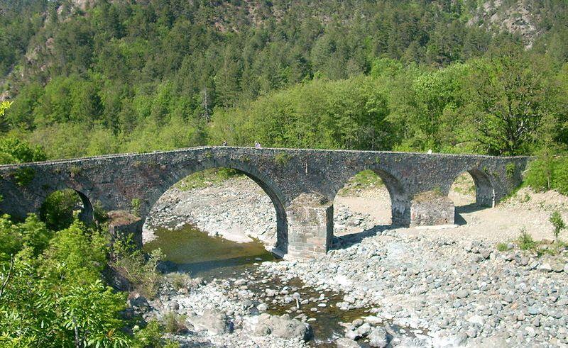 Tiglieto, ponte sul torrente Olba - Davide Papalini