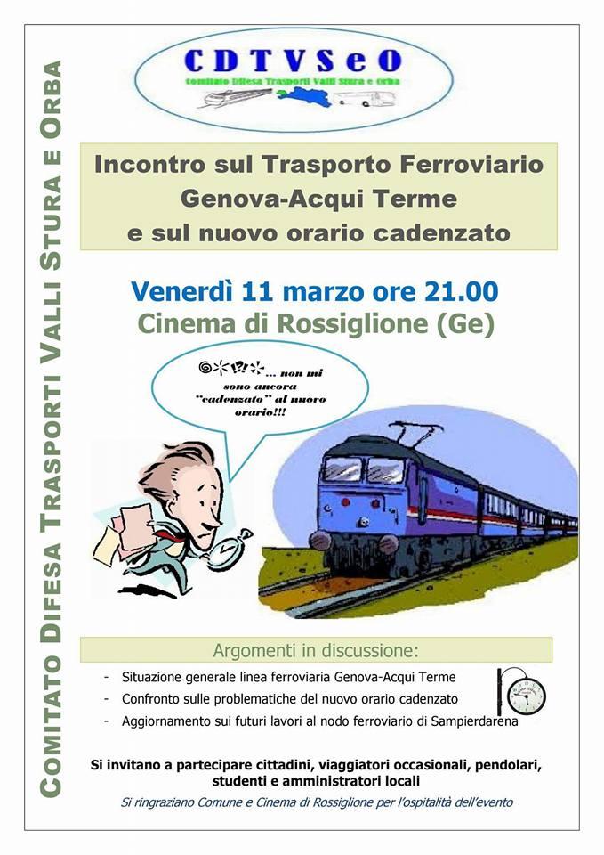 Incontro su trasporto ferroviario