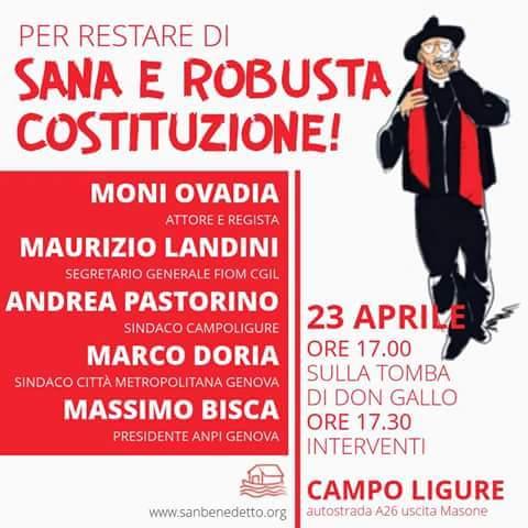 Ricordare Don Andrea Gallo