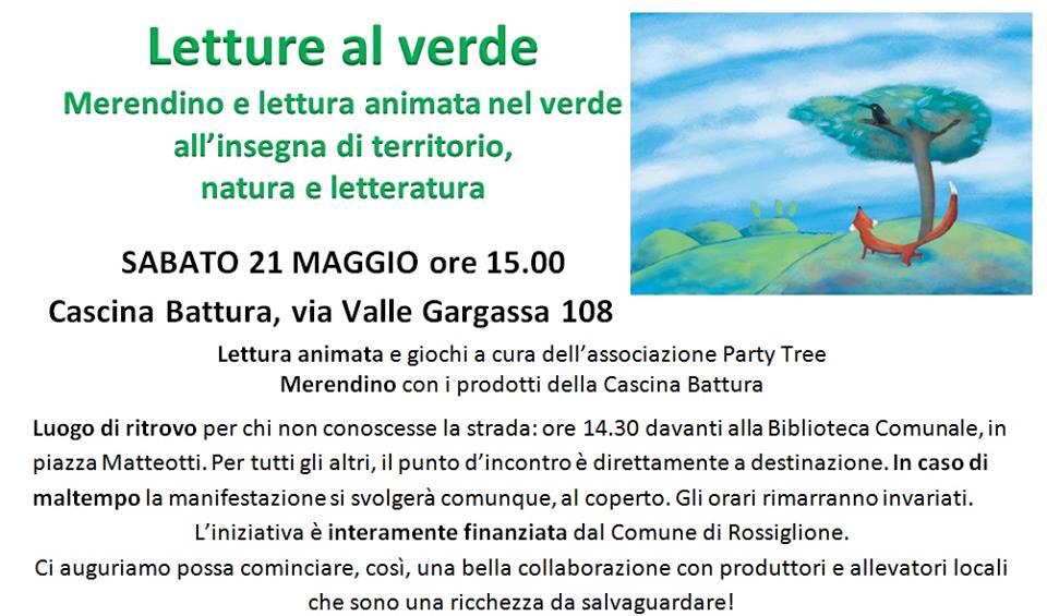 Letture al verde a Rossiglione