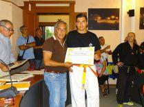 Il sindaco premia Iannizzi