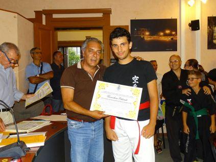 il sindaco premia Orlando