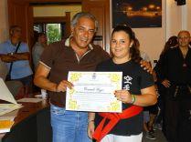 il sindaco premia Vozzo