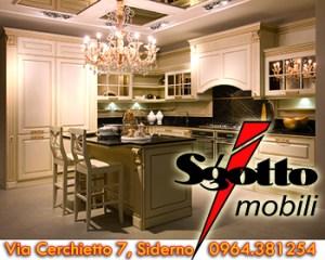 Sgotto mobili, soluzioni eleganti e di classe per comporre la tua cucina o il tuo soggiorno. Siderno, via cerchietto 7. Tel. 0964.381254