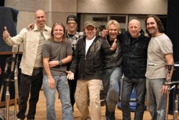 Tony Franklin con Vasco Rossi e Slash