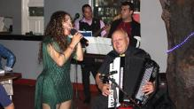 Angelo Laganà in concerto con la sua fisarmonica-midì