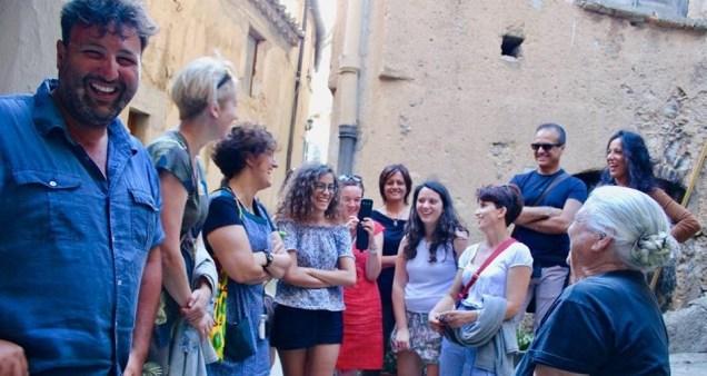 slow experiential tours - borgo Badolato di Calabria CZ con by Guerino Nisticò e Rosa - agosto 2019