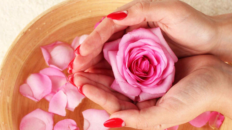 Resultado de imagen para agua, miel y rosas rosadas