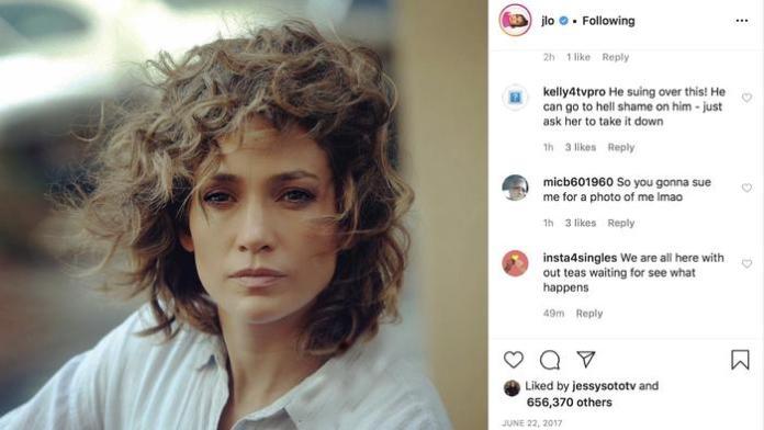 Jennifer Lopez photo demand