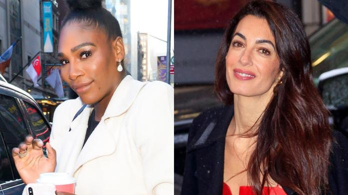Serena Williams y Amal Clooney