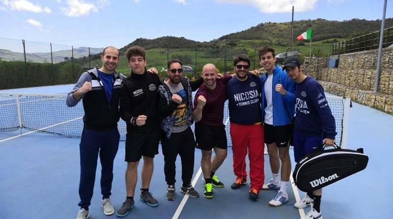 Tennis, strepitosa vittoria per il Nicosia Tennis Club nell'esordio del campionato D3