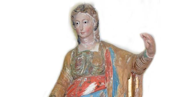 Enna, il 18 luglio verrà svelata la cinquecentesca statua lignea di Santa Lucia dopo il restauro conservativo