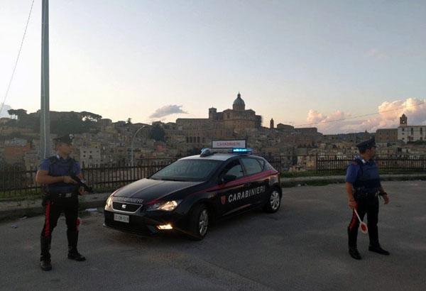 Piazza Armerina, arrestati dai carabinieri tre giovani per rissa aggravata