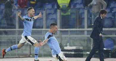 Lazio-Inter 2-1, Juve sola in vetta