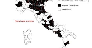 Coronavirus. In Italia il 12 luglio nelle ultime 24 ore 234 nuovi contagi e 9 decessi