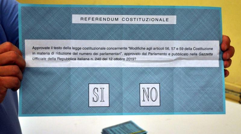 Referendum costituzionale, lunedì 21 settembre alle 15 l'affluenza in provincia di Enna è del 41,56 %