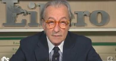 """Feltri, Vittorio 'difende' Mattia: """"Critiche Boldrini? Me ne frego"""""""