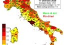 Coronavirus. In Italia il 17 gennaio nelle ultime 24 ore i nuovi contagi sono 12.545, i decessi sono 377