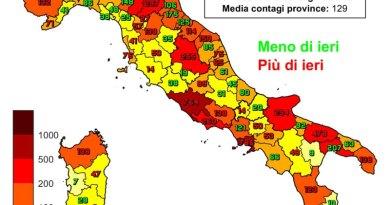 Coronavirus. In Italia il 21 gennaio nelle ultime 24 ore i nuovi contagi sono 14.078 i decessi sono 521