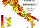 Coronavirus. In Italia il 26 gennaio nelle ultime 24 ore i nuovi contagi sono 10.593 i decessi sono 541