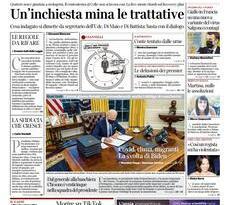 Quotidiani Nazionali      Prime pagine di oggi | Venerdì 22 Gennaio 2021