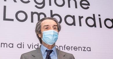 """Lombardia Zona arancione, Fontana: """"Nostri dati corretti"""""""