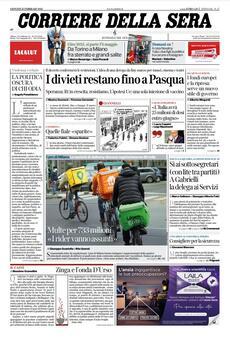 Prime pagine dei giornali di oggi            Rassegna Stampa   Giovedì 25 Febbraio 2021