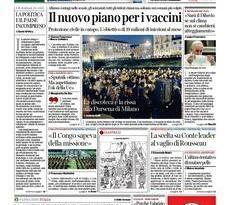 Prime pagine dei giornali di oggi            Rassegna Stampa | Domenica 28 Febbraio 2021